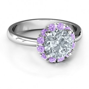 Personalised Victoria Single Halo Ring - Custom Made By Yaffie™