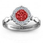 Personalised Vintage Glamour Ring - Custom Made By Yaffie™