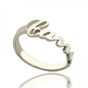 Personalised Carrie Name Rings Gift - Custom Made By Yaffie™