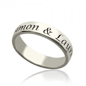 Personalised Promise Name Ring - Custom Made By Yaffie™