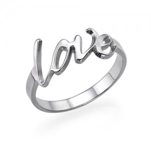 Personalised Love Ring - Custom Made By Yaffie™