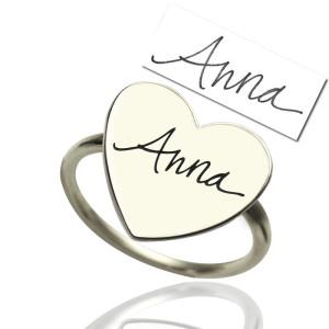 Personalised Signature Ring Handwriting - Custom Made By Yaffie™