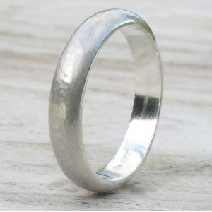 Personalised Handmade Hammered Ring - Custom Made By Yaffie™