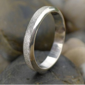 Personalised Diamond Cut Textured Ring - Custom Made By Yaffie™