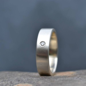 Personalised Handmade Mens Engagement Ring - Custom Made By Yaffie™