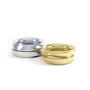 Personalised Eternal Twist Ring - Custom Made By Yaffie™