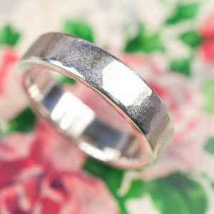 Personalised Organic Textured Ring - Custom Made By Yaffie™