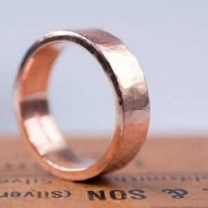 Personalised Organic Wide Ring - Custom Made By Yaffie™