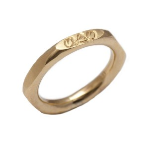 Personalised Hexagonal Ring - Custom Made By Yaffie™