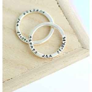 Personalised Message Ring - Custom Made By Yaffie™