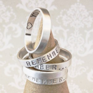 Personalised Remember… Your Story Ring - Custom Made By Yaffie™