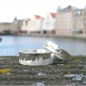 Personalised City Skyline Ring - Custom Made By Yaffie™