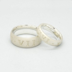 Personalised Roman Numeral Ring - Custom Made By Yaffie™