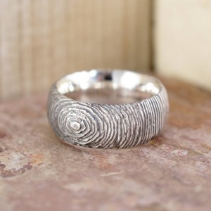 Personalised Slate Ring - Custom Made By Yaffie™