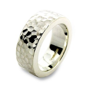 Personalised Hammered Ring - Custom Made By Yaffie™