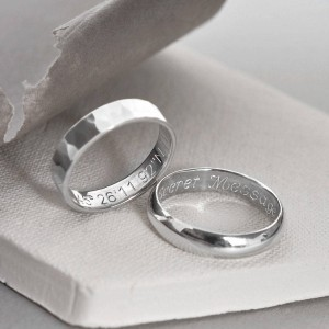 Personalised Secret Message Ring - Custom Made By Yaffie™