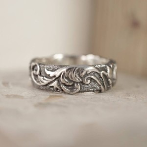 Personalised Victorian Scroll Ring - Custom Made By Yaffie™